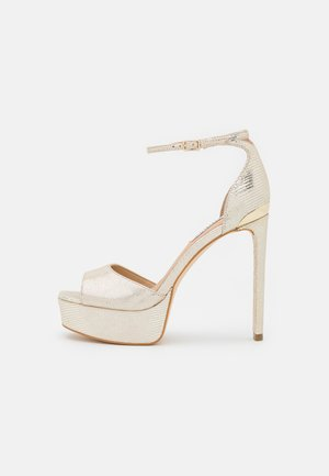 ALDEN - Korkeakorkoiset sandaalit - plaino