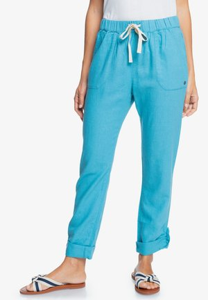 ON THE SEASHORE  - Pantalon classique - adriatic blue