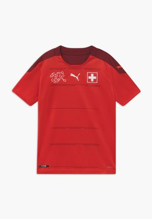 SCHWEIZ SFV HOME REPLICA - National team wear - red/pomegranate