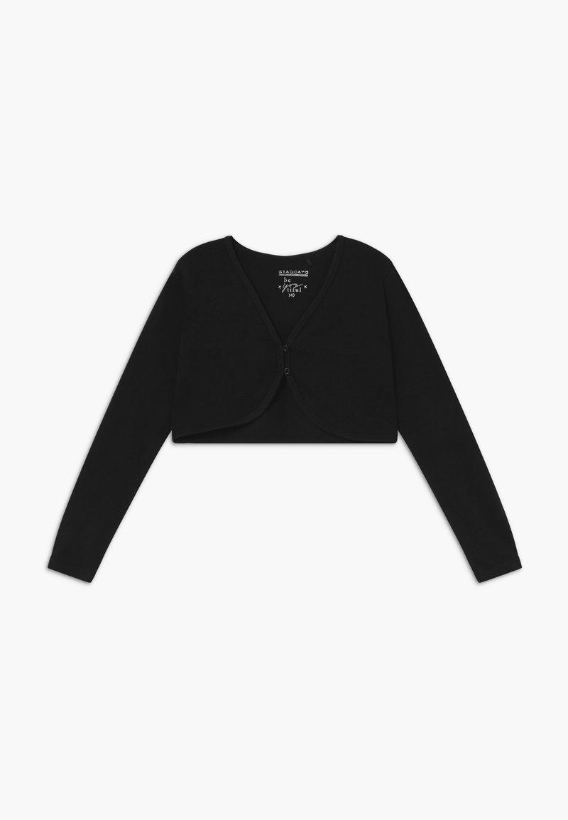 Staccato - BOLERO KIDS - Cardigan - schwarz