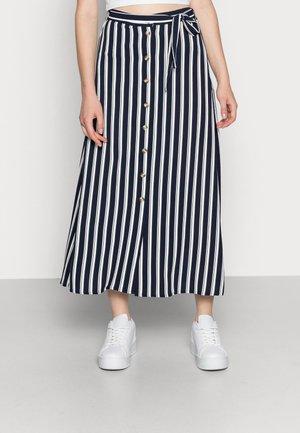 VMSASHA ANCLE SKIRT NOOS - A-linjekjol - navy blazer/snow white coco