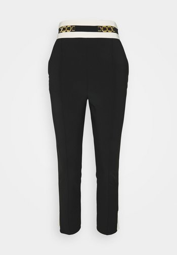 Trousers - nero/burro