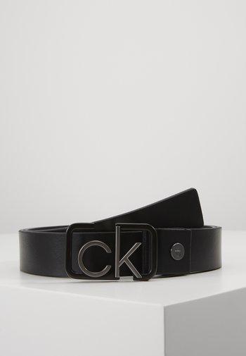35MM SIGNATURE BUCKL BELT - Pásek - black