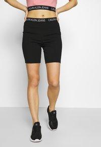 Calvin Klein Jeans - MILANO CYCLING - Shorts - black - 0