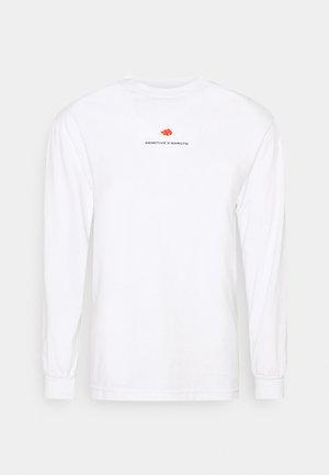 AKATSUKI CLAN TEE - Long sleeved top - white