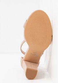 Rubi Shoes by Cotton On - SAN LUIS - Sandaler med høye hæler - pale taupe - 6