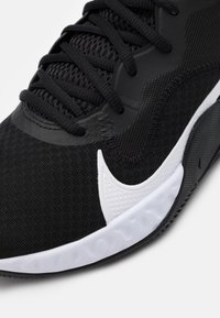 Nike Performance - RENEW ELEVATE - Basketball shoes - black/white/smoke grey - 5