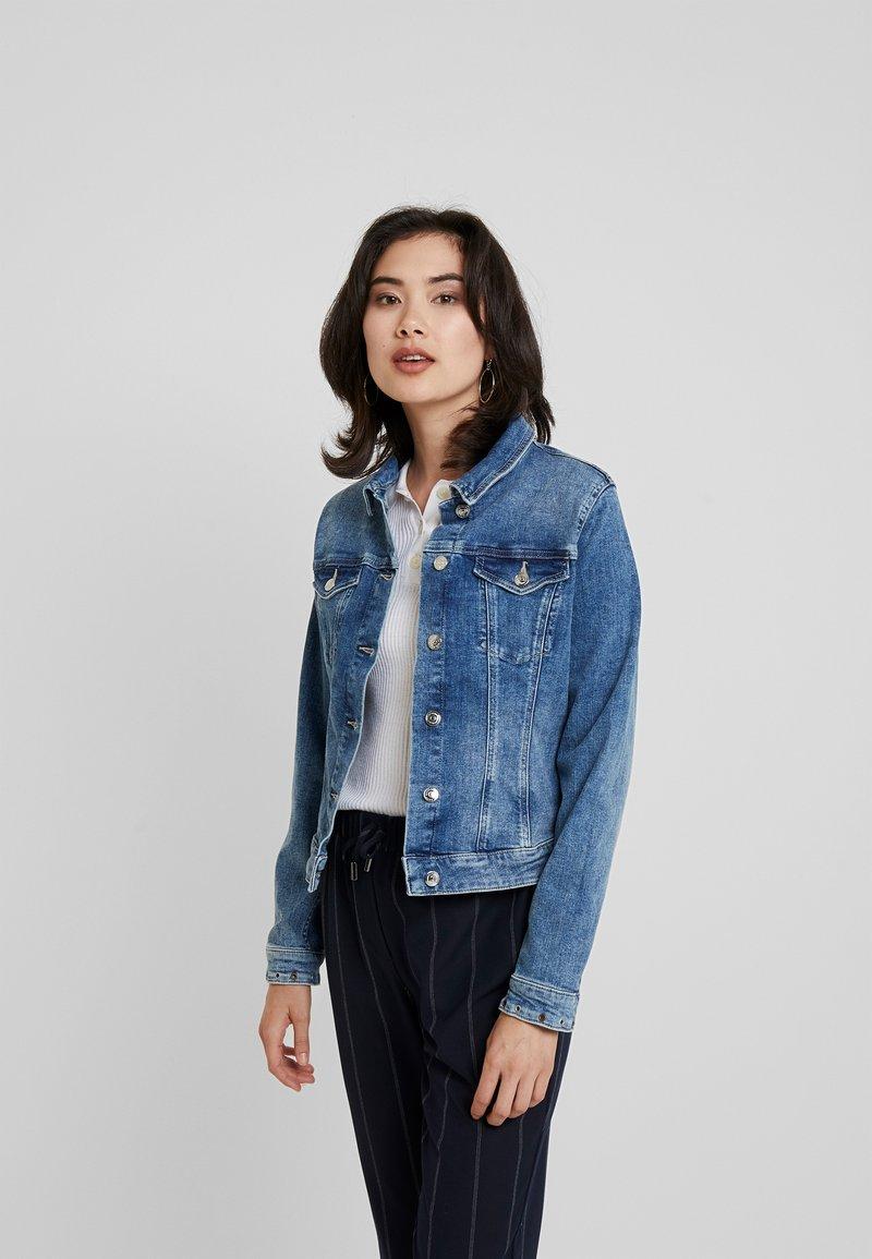 s.Oliver - Denim jacket - blue denim
