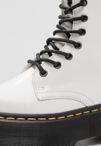 Dr. Martens - JADON ZIP - Bottines à plateau - white - 2