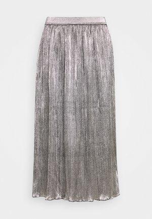 JOLIE - A-snit nederdel/ A-formede nederdele - silver