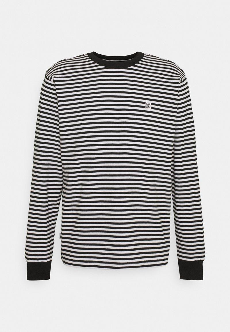 Obey Clothing - ICON FACE TEE - Pitkähihainen paita - black multi