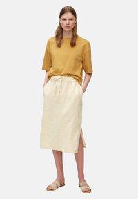 Marc O'Polo - A-line skirt - summer taupe - 1