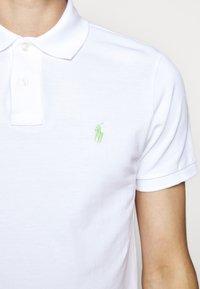 Polo Ralph Lauren - BASIC - Polo - white/ant neon - 8