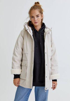 Waterproof jacket - off-white