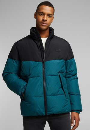 Winter jacket - dark teal green