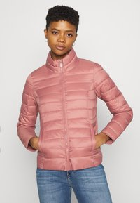 ONLY - ONLNEWTAHOE QUILTED JACKET - Light jacket - withered rose - 3