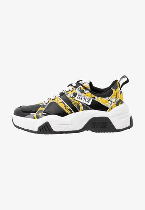 Baskets basses - black/yellow