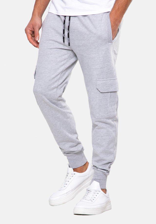 STEFAN - Pantaloni sportivi - grey marl