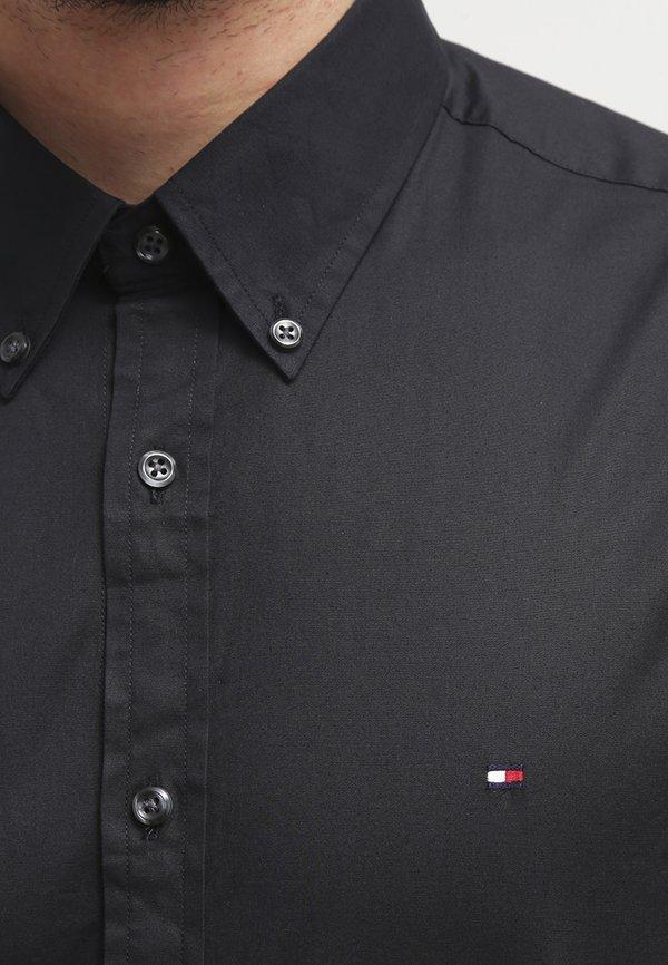 Tommy Hilfiger Koszula - flag black/czarny Odzież Męska YARJ