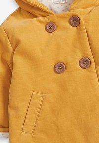 Next - Zimní kabát - yellow - 2