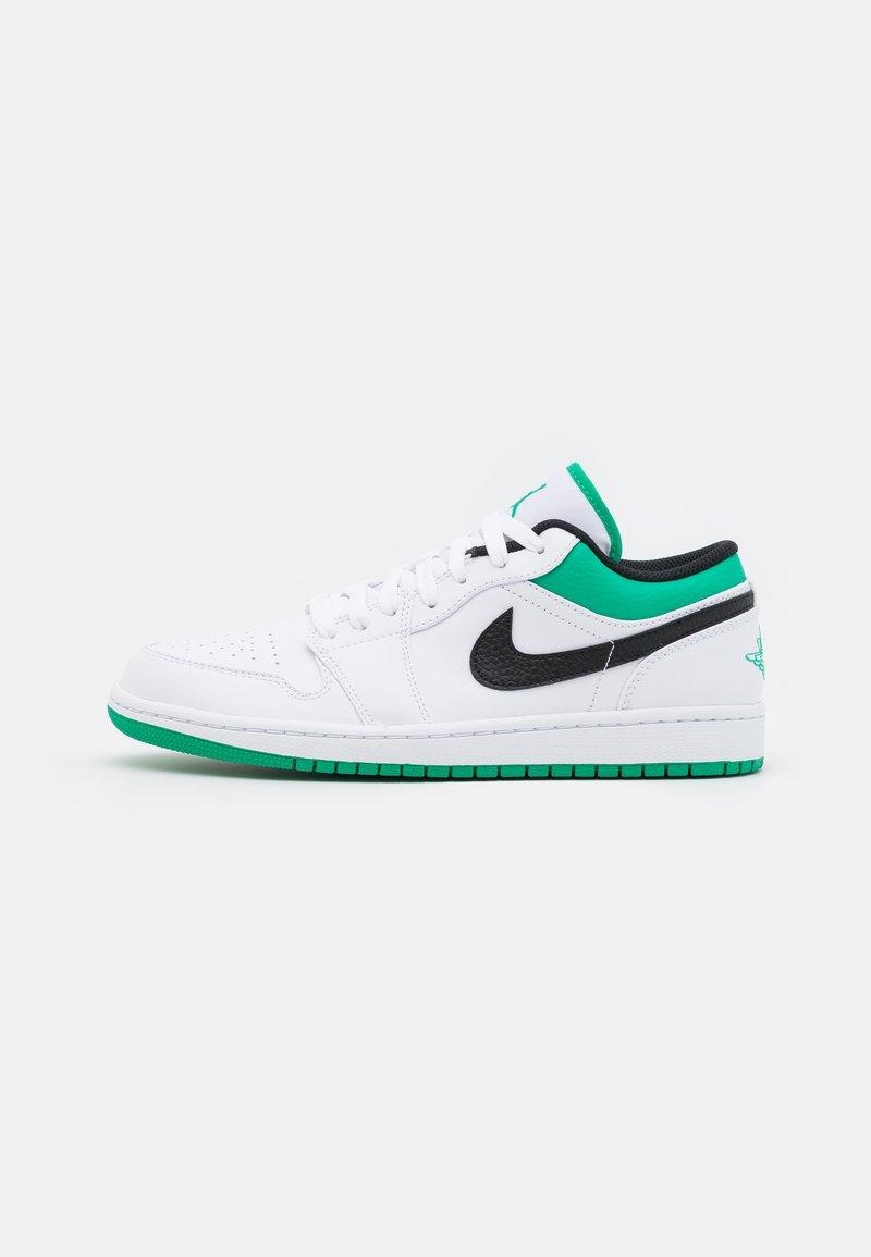 Jordan - AIR 1 - Sneakers laag - white/stadium green/black