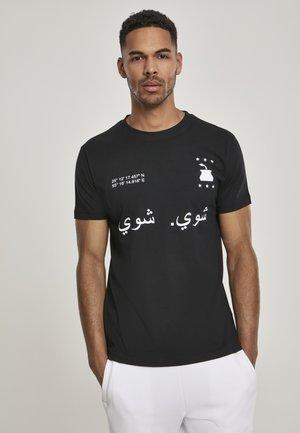 SHUI SHUI - Print T-shirt - black