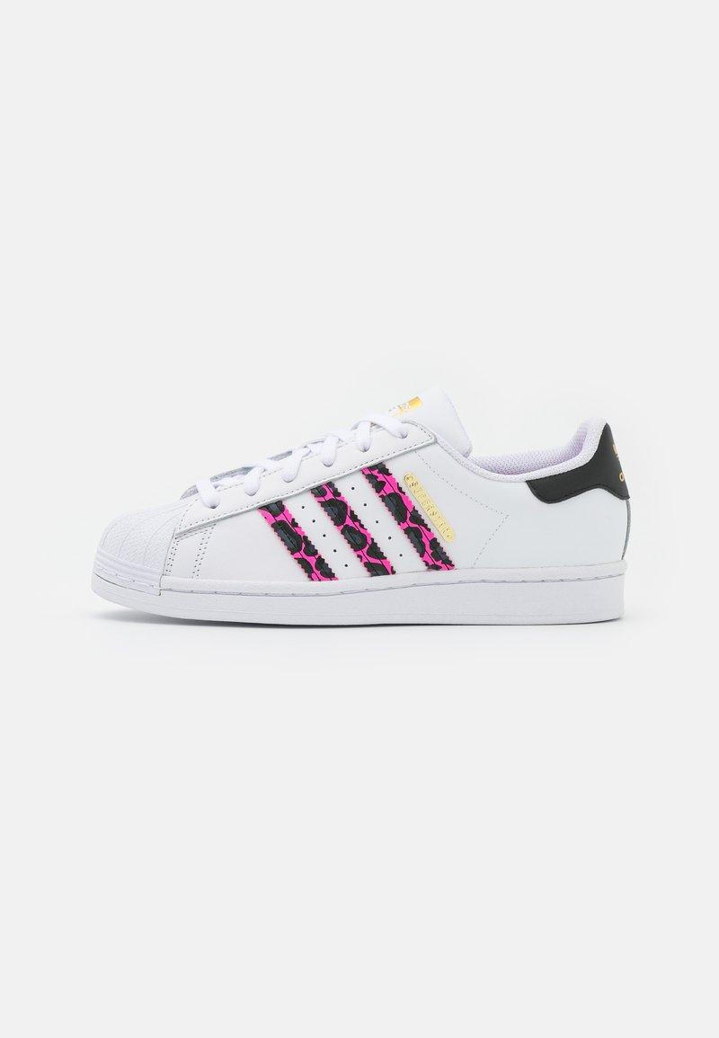 adidas Originals - SUPERSTAR - Tenisky - footwear white/screaming pink/core black