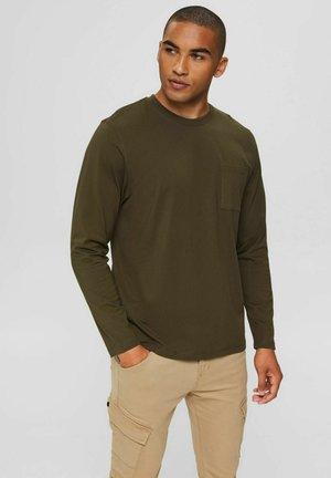 LONGSLEEVE  - Long sleeved top - dark khaki
