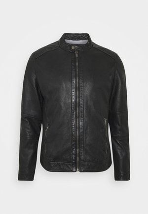 FREDERIC - Leather jacket - noir