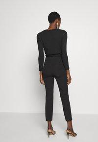 J.CREW - GEORGIE PANT - Spodnie materiałowe - black - 2