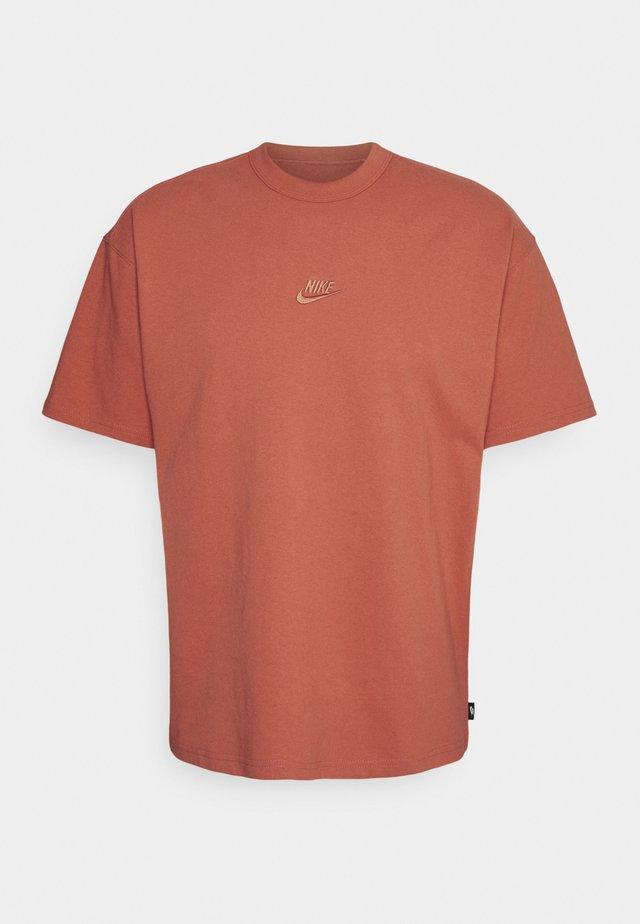 TEE PREMIUM ESSENTIAL - T-shirt basic - light sienna