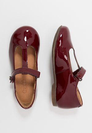 FIONAS T-BAR NARROW FIT - Klassischer  Ballerina - bordeaux