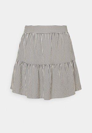 VMANNABELLE SKIRT - Mini skirt - navy blazer/birch