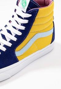 Vans - SK8 - High-top trainers - sunshine/multicolor/true white - 6