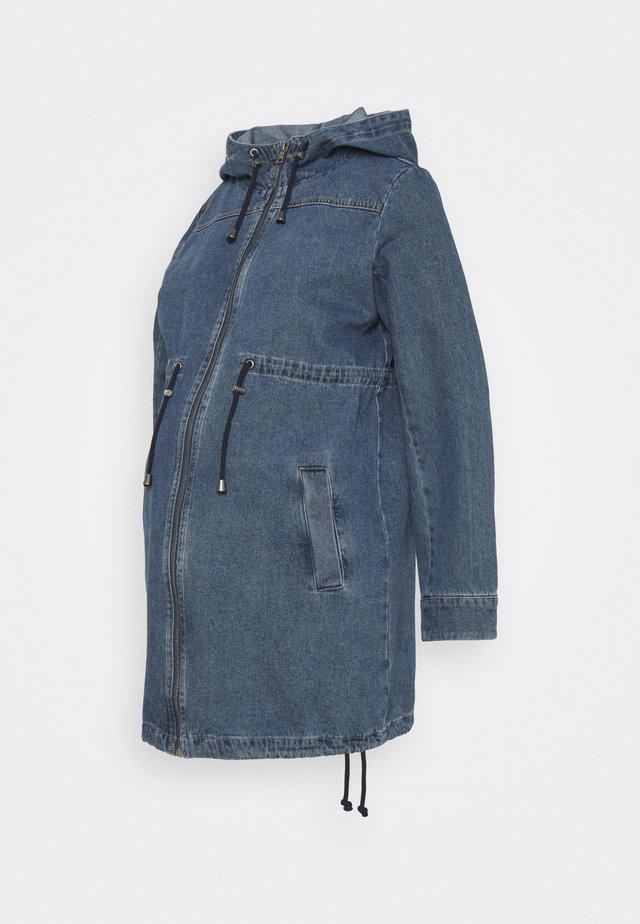 MLJENILLE CARYY ME - Krótki płaszcz - light blue denim