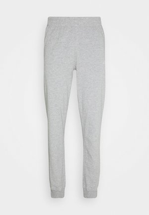 CUFF PANTS CORE LIGHT - Spodnie treningowe - light middle grey melange