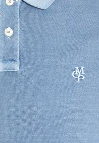 Marc O'Polo - SHORT SLEEVE BUTTON PLACKET - Polo - kashmir blue - 6