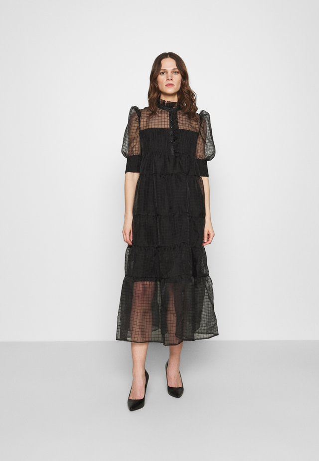 RIO DRESS - Cocktailjurk - black