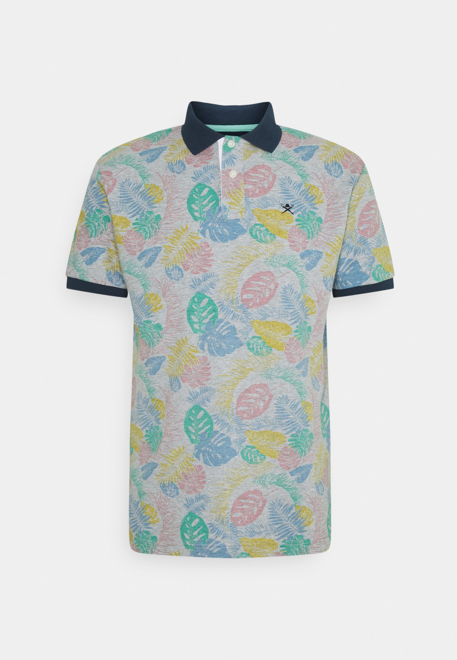 Men HIBISCUS PRINT - Polo shirt