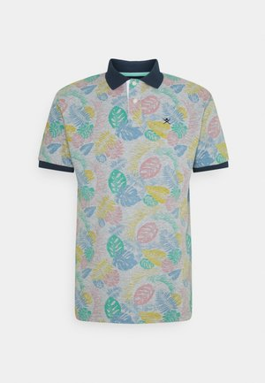 HIBISCUS PRINT - Polo shirt - grey
