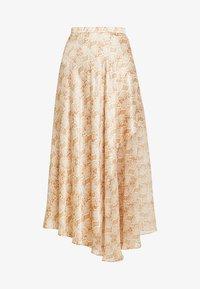 ANACONDA MIDI SKIRT - A-line skirt - beige