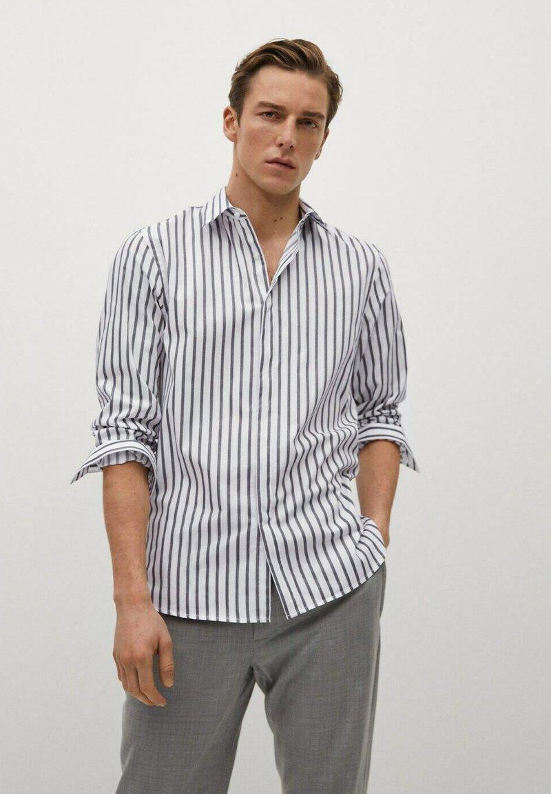 Mango - DAVID - Shirt - weiß