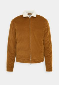Levi's® Made & Crafted - LMC QUILTED ZIP JACKET UNISEX - Jas - lmc dark ginger - 0
