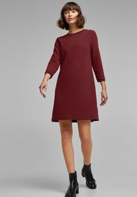 edc by Esprit - POPCORN  - Jumper dress - red - 1