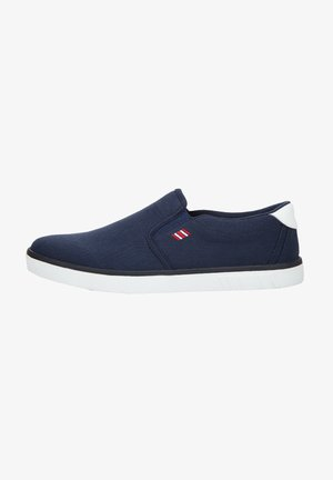 Trainers - navy/white/red