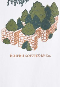 WAWWA - LARK UNISEX - Print T-shirt - white - 2
