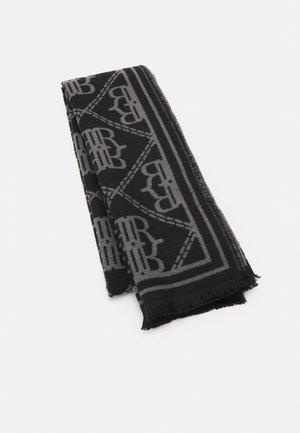 LARGE MONOGRAM SCARF - Bufanda - black