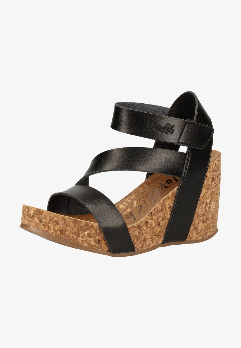 Blowfish Malibu - Platform sandals - black