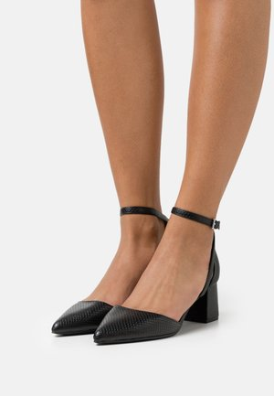 HAZY - Tacones - black