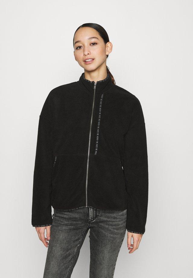NMKITTY ZIP - Fleece jacket - black